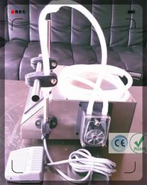 Wholesale 2016 CE RoHS new digital control liquid filling equipment for small business peristaltic pump filling machine GZL ml min