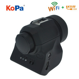 5.0MP USB WIFI CMOS Digital Electronic Eyepiece Camera with Adapter for Spotting Scope Microscope Astronomical Telescope