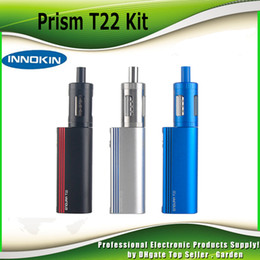 Original Innokin Endura T22 Starter Kit Built In 2000mAh battery Box Mod Vaporizer Kit with Prism T22 Tank 100% genuine DHL Free 2201059