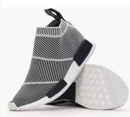 Wholesale Nmd City Sock Men Women Shoe NMD CS1 City Sock PK Core Black Vintage White Ftwr White Casual Sports Shoes S79150 Footwear