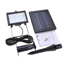 Новый IP65 30 LED солнечной энергии прожектор света Датчик лампы Панель Открытый безопасности для лужайки сада бассейн пруд-роуд Pathway White от Производители панели солнечных дорог