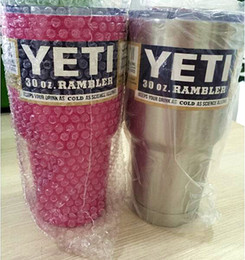 Wholesale 30oz Yeti Cup Vacuum Insulated Rambler Colster Insulated Cup Mug Drink Holder Insulated Stainless Steel Cup Beer Cup