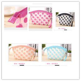 Wholesale New design promoting plastic women clear transparent pvc cosmetic bag eco beauty women zipper cosmetic bag