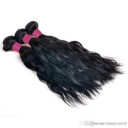 Promotion cheveux ondulés tisse pour les femmes noires Top Fashion Natural Wave 3 Pièces / lot Nature Non Transformés Cheveux brésilien ondulé Bundle tissage pour les femmes afro-américaines noires 3,4,5pcs / lot