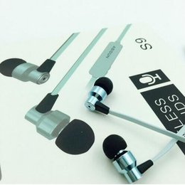 Wholesale Alibaba bluetooth headset S9 stereo running sport metal wireless headphone in ear handsfree for mobile phone