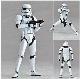 2017 l'action de guerre Action Figure New Star Wars Action Figure Gravity Anime main Model Pass Type Star Wars The Storm Commandos Blanc Pions l'action de guerre autorisation