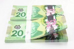 Wholesale 100PCS Canada Banknotes C CAD Bank Staff Training Collect Learning Banknotes Arts Gifts Home Arts Crafts New