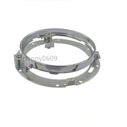 7inch Round Mounting Bracket Ring Led Headlights bracket For Jeep Wrangler Toyota Harley