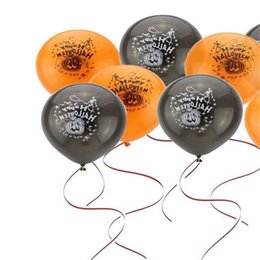 Wholesale 2016 new home decoration Halloween pumpkin balloons Party Decoration Supplies arrival Halloween party cosplay toys the best halloween gift