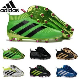 Wholesale Adidas Originals ACE PureControl best quality soccer boots more color football shoes men soccer shoes football boots Sport Shoes