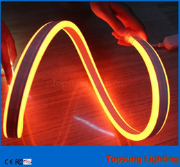 super bright 50m spool 8*18mm double side emitting led neon tube lights flexible smd neon waterproof for rooms 24V 12V multi colors