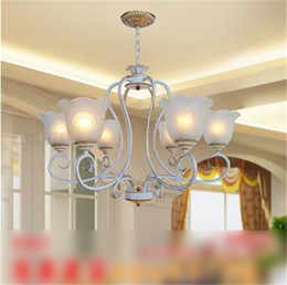 LRE041-Modern Fashion Crystal Glass Chandelier Light Iron Glass Material Home Decorative Glass Chandelier Light Modern European Chandelier