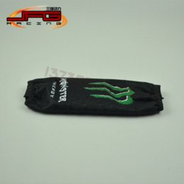 Wholesale Rear Shock Cover Protector cm Green monster for Motorcycle Dirt Pit Bike ATV motocross enduro quard