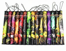 SMOKing Stick Disposable Shisha Time Pens Pipes Shi Sha eHookah e-hookah Huge Vapor Up to 500puffs Various Flavors Classic Flavor