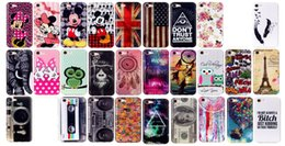 Wholesale Soft TPU IMD Case For Iphone I7 Iphone7 Owl Bowknot Flower Mickey Minnie Mouse UK USA Flag Cartoon Cute Lovely Balloon Tower Cover Skin
