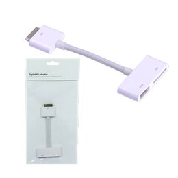 Wholesale Apple Digital AV Adapter For Iphone s ipad ipod touch to HDMI Cable Video P TV