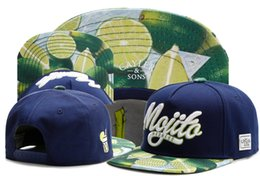 Wholesale New brand C S MOJITO MADNESS CAP Green lemon baseball cap snapback hat for men women hip hop adult sun active cap