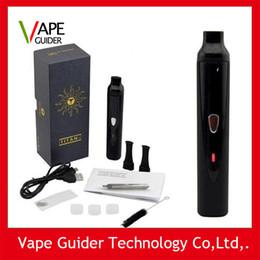 Wholesale POp salers Titan Vaporizer kit Hebe Dry herb Ecigarette Burn dry herbs Vaporizer pen with mAh Battery Lcd for snoop dog g pro vapor