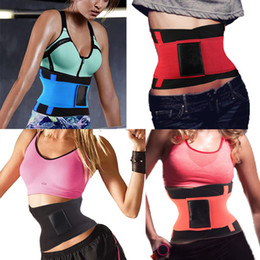 Wholesale Neoprene Sports Miss Belt Waist Trainer Burn Fat Loss Weight Girdle For Women Body Shaper Postpartum faja reductora cinturilla