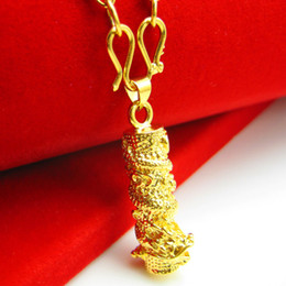 Don't rub off the Gold Necklace Mens imitation gold pendant 18K gold plated pendant jewelry mixed Dragon Dragon Pendant