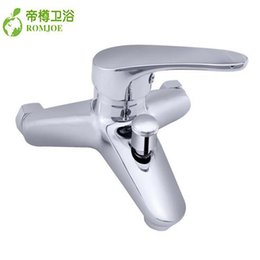 Wholesale Copper Shower Faucets Controls - Bathtub Faucets Contemporary And Contracted Multifunction Shower Faucet Copper Shower Wholesale The Bath Hot And Cold Tap, Free Shipping