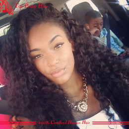 Wholesale Custom Made Human Hair Wigs With Bleached Knots Curly Human Hair Full Lace Wigs Glueless Curl Lace Wig Supplier Sale Fast Shipping