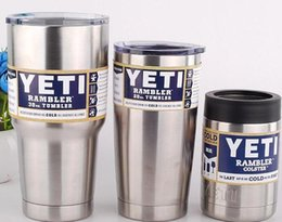 Wholesale Yeti oz oz oz oz Rambler Tumbler Bilayer Insulation Cups Cars Beer Mug Large Capacity Mug Tumblerful Car Cups