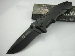 Top Quality Strider Knives Strider B43 Knife Pocket knives Folding Blade Knife 440C 56HRC Blade Steel Handle Knife EDC Pocket Knives