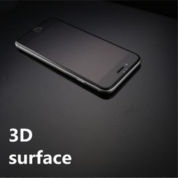 Wholesale The minimum order is one piece really full coverage of D surface tempered Glass For iphone s Plus with cleaning Kit