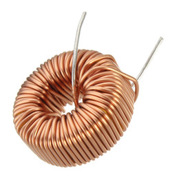Wholesale Hot Special Offer High Standard uH A Brass Tone Toroid Core Inductor Coil Wire Wind Wound for DIY