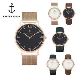 2017 Fashion BRAND KAPTEN & SON WATCH MEN SPORTS WATCH WOMEN DRESS PARTY WATCH BOY FRIEND GIRL LOVER WATCH