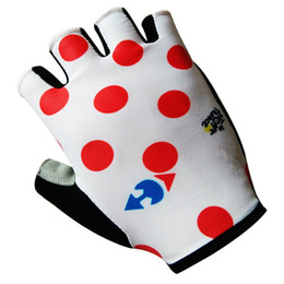 New arrive 2017 Ropa Ciclismo Cycling Bike Bicycle Team GEL Sports Half Finger Silicone Gloves Size:S-XL