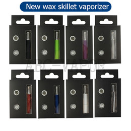 2016 New skillet wax vaporizer skillet vaporizer quartz atomizer 510 wax atomizer EGO D e skillet vaporizer for ego e cig-01