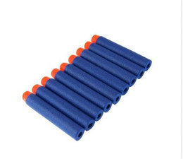 Wholesale Kids Toy For NERF N Strike Gun Bullet Amazing Darts Round Head Blue Blasters interesting Hot Selling of
