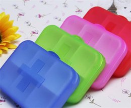 Wholesale 1000pcs Pill cases Cells Mini Pill Storage Box Plastic Cases for Medicine Jewelry Organizers Medication pill box D891