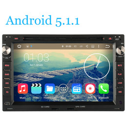Wholesale Stereo Dvd Vw Golf - ndroid 5.1.1 Quad Core HD 1024*600 Car DVD Radio GPS For VW Volkswagen Transporter T4 T5 GOLF 4 MK4 Jetta POLO Sharan Passat