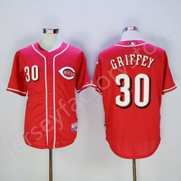 Wholesale Cheap Cincinnati Reds Jerseys Ken Griffey Men s sports MLB Baseball jerseys for sale Ken Griffey Jerseys Cool Base Elite Stitched