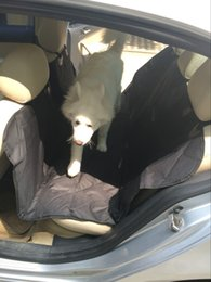 Wholesale 2016 hotsale pet car seat cover very durable OEM accepted cm custom logo color and design all available