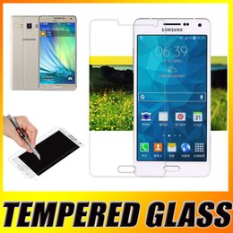 Wholesale 9H Hardness Explosion Proof Real Premium Tempered Glass Screen Protector Film Guard For iPhone Plus Samsung A7 A5 A3 S7 S6 Edge S5