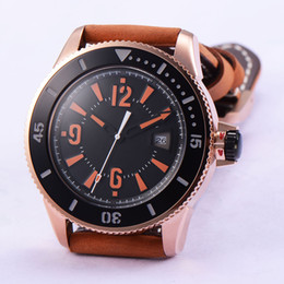 1771 Bliger 43mm Date Rose Gold Stainless Steel Case Automatic Men's Watch