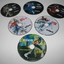 Wholesale Workout DVDs Bodybuiding Fitness DVD Discs with Brand Fitness Videos
