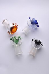Wholesale Smoking Dogo New Arrival mm or mm female joint Glass Bowl for smoking pipe Glass bubbler and Ash Catcher Glass smoking nail Oil rigs