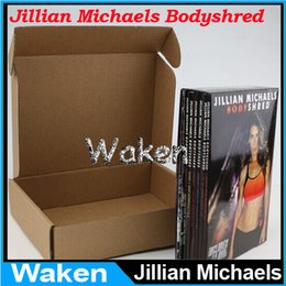 Wholesale Jillian Michaels BODYSHRED Workout DVD Base Kit BONUS DVD DVD INCLUDED Fitness workout BRAND NEW T25 CIZE day extrame available