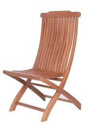 Wholesale Living Room Garden Furniture Solid Wooden Chair Environment Friendly Folding Chairs