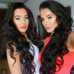 Peruvian 9A Loose Wave Human Hair Full Lace Wigs Body Wave Natural Hairline Front Lace Wigs With Baby Hair 130% Cheap Price