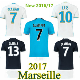 Wholesale Thai quality Marseille soccer jerseys NEW Olympique de survetement football shirts price