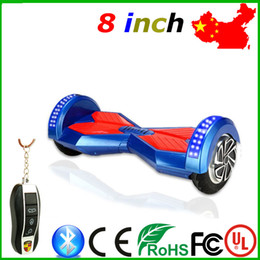 Self Balance Scooter 2 Wheels Bluetooth 8 Inch Bluetooth Electric Smart Self Balancing Scooter Hover Board Unicycle Balance 2 Wheel 8 inch