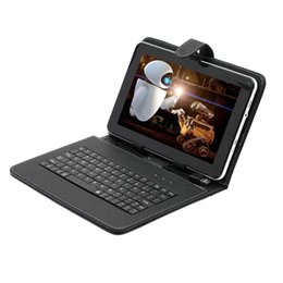 "Boda Tablet PC 9"" Android 4.2 8GB Dual Core A23 Dual Camera w  Black Keyboard"