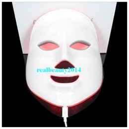 Wholesale 2016 Portable LED Colors Photo PDT Skin Rejuvenation Beauty Therapy Facial Mask For Pigmentation Correction