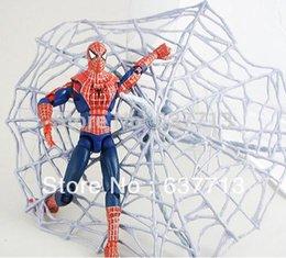 Boîte d'araignée jouet à vendre-19cm Nouvelle arrivée Spider-Man Figurines d'action de haute qualité superpowered meubles Poupées Jouets Modèle de poupée de Noël Cadeaux In Box 1206 # 06